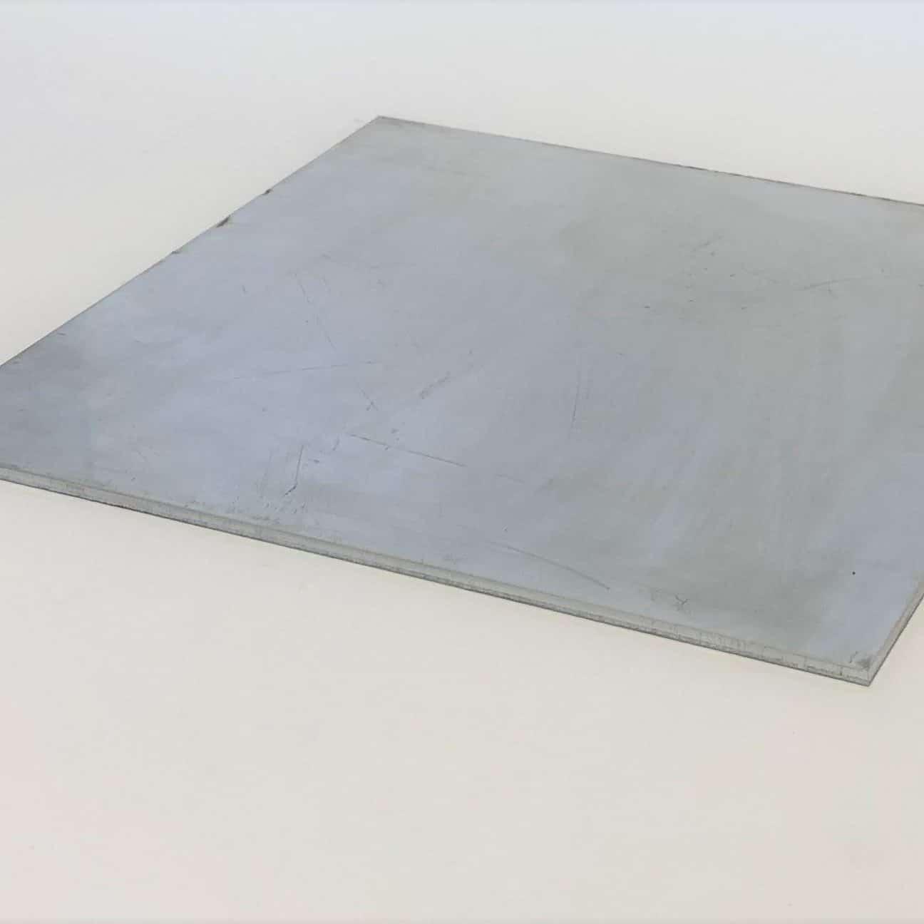 Bild på aluminiumplåt från Bromma Stål