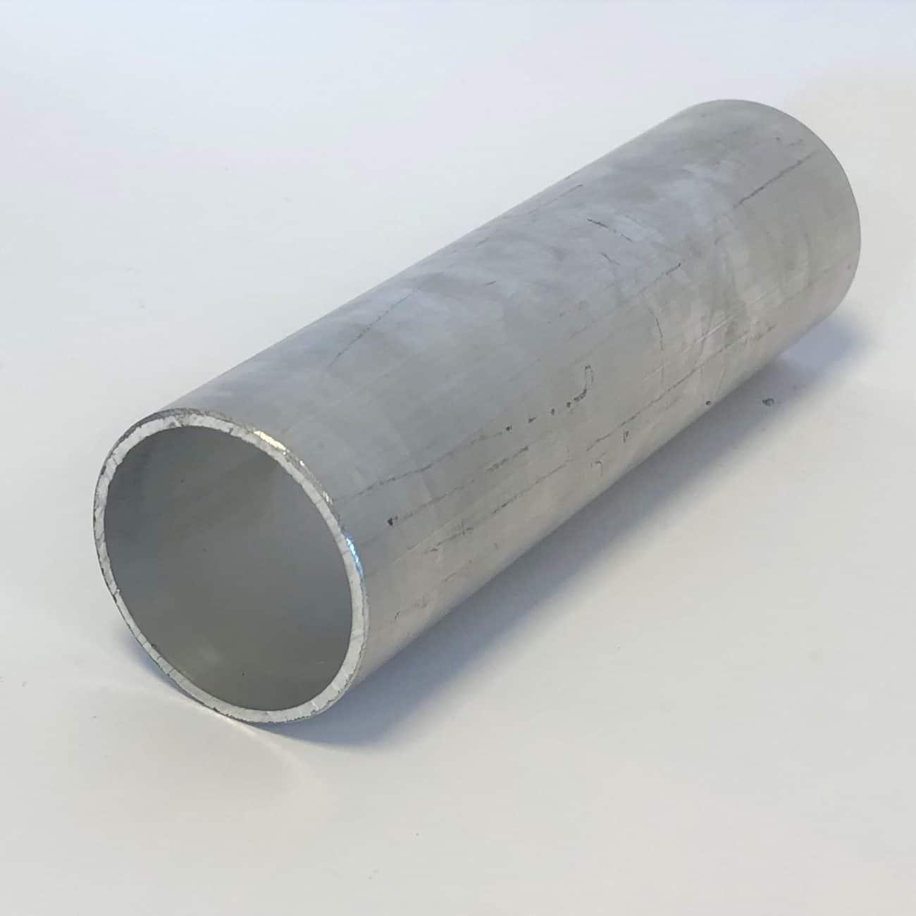 Bild på aluminiumprofiler från Bromma Stål